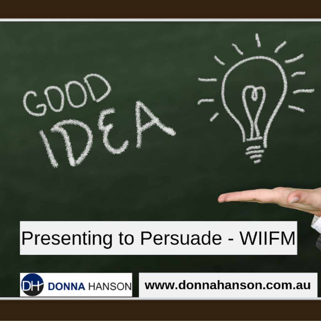 Presenting to Persuade