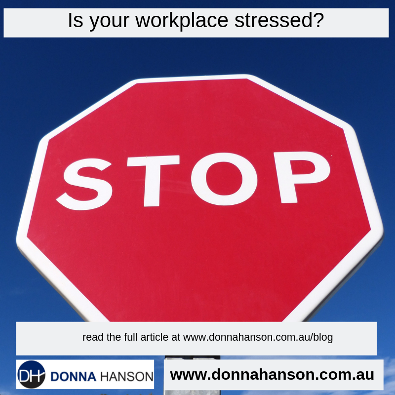 Is Your Workplace Stressed
