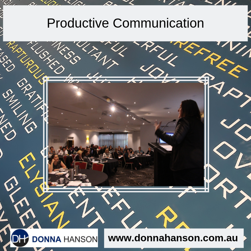 How to Communicate More Productively